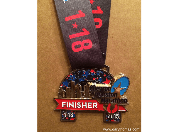 Gary's Finisher Medal Final