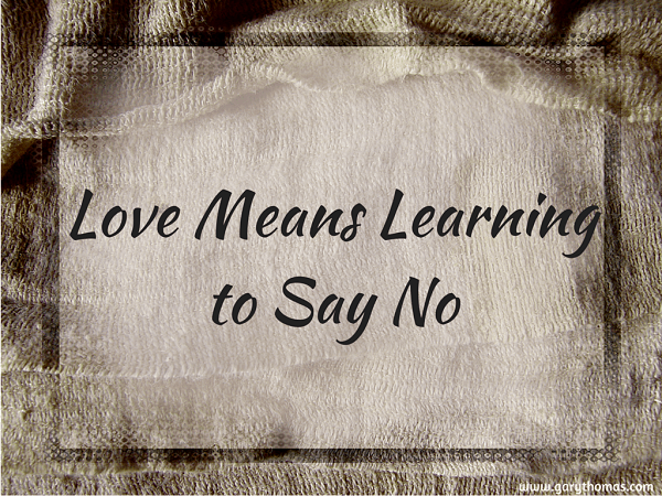 Love Means Learning to Say No final