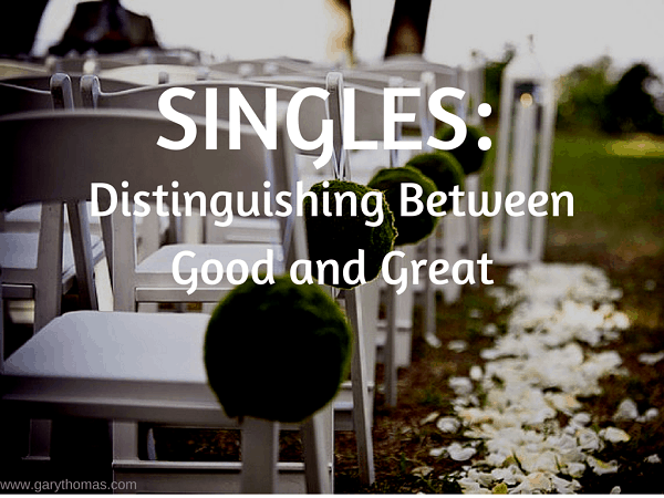 Singles- Distinguishing between Good and Great Final