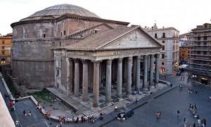 Roman Pantheon Exterior
